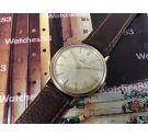 Omega Geneve Vintage swiss watch hand winding cal 601 Ref 131.019 Plaque OR G20