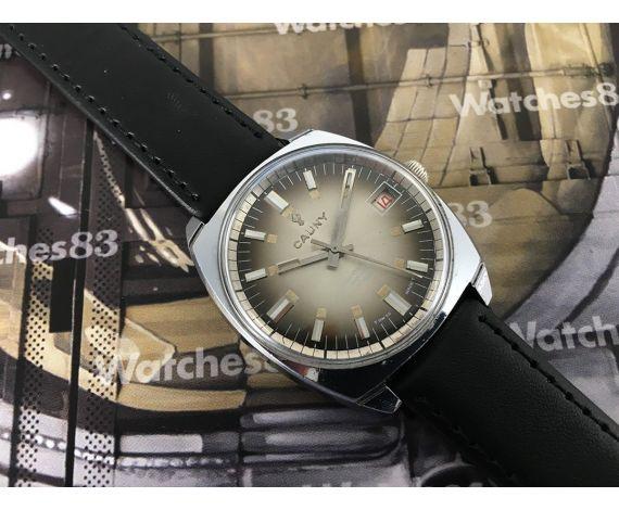 CAUNY vintage swiss manual winding watch
