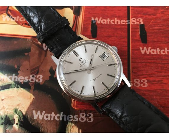 Omega automático reloj antiguo suizo Cal. 1012 + Estuche