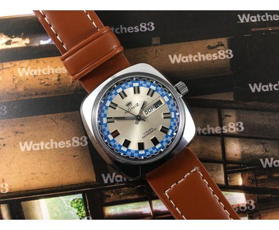 Vintage watch hand winding Koniz 17 Rubis OVERSIZE