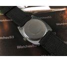 Endura swiss made vintage watch hand winding Jump Hour OVERSIZE