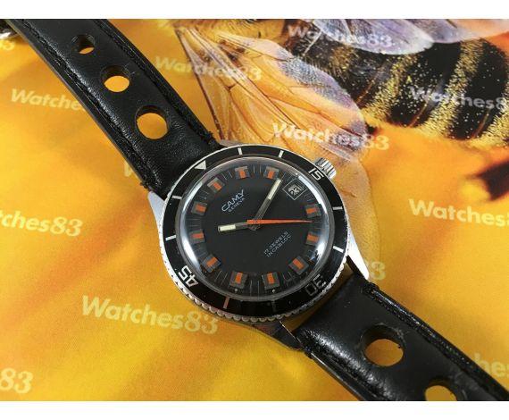 Reloj vintage suizo de cuerda CAMY 17 jewels Diver