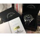 Reloj ZENO WATCH BASEL Super-Oversized de cuerda Ref. 9558 SOS SILV + Estuche + Tarjeta