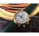 Maurice Lacroix Reloj antiguo cronógrafo automático + Estuche + Papeles