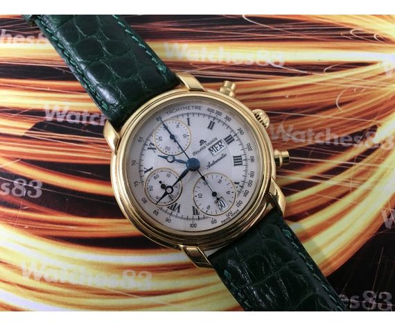 Maurice Lacroix automatic Vintage watch chronograph + BOX + Papers