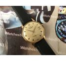 Vintage manual winding swiss watch Radiant 21 jewels Plaqué OR