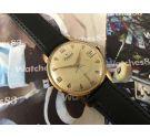 Reloj antiguo suizo de cuerda Radiant 21 rubis Plaqué OR