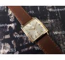 Cauny Prima Calendario Reloj antiguo suizo de cuerda Plaqué OR