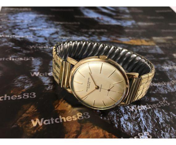 Reloj antiguo de cuerda Baume & Mercier Plaqué OR 15 jewels