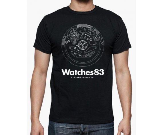 Camiseta Hombre Movimiento BN (N)