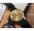 Reloj suizo antiguo de cuerda OMEGA Plaqué OR Cal 601 Ref 135.070 *** NOS ***
