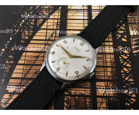 CTAPT vintage soviet START hand winding watch *** Oversize 36 mm *** 17 jewels