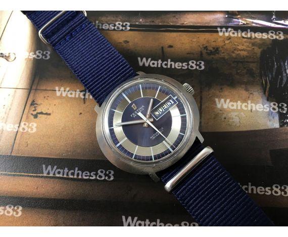 Reloj Festina suizo antiguo automático 25 rubis *** Tipo Omega Dynamic ***