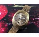 Longines Admiral automatic reloj suizo vintage automático IMPRESIONANTE Oversize