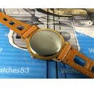 Reloj antiguo suizo de cuerda Hormi bañado en oro ** Espectacular **