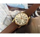 Vintage swiss watch Cyma automatic gold filled calendar Cal R 804 00