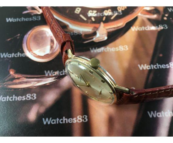Reloj Certina vintage de cuerda bañado en oro Cal 28-10