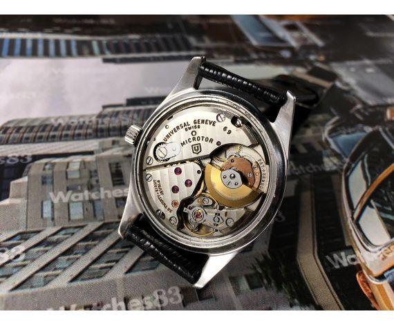 Universal Polerouter Geneve Microtor Reloj antiguo automático cal 69