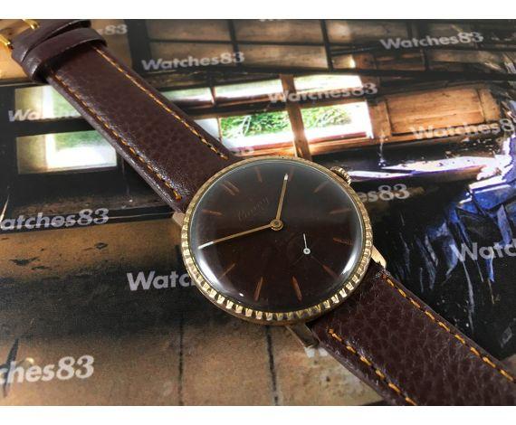 Vintage swiss watch Cauny Unic mechanical 15 rubis