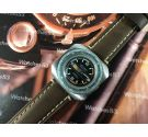 Vintage manual winding watch LONLAY WATCH Grand Luxe Super 21 OVERSIZE Diver