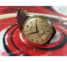 ARCADIA Centenario vintage Reloj suizo de cuerda manual bañado en Oro Gran diámetro *** ESPECTACULAR ***