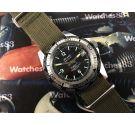 Sicura Rallye GT Reloj vintage suizo de cuerda 23 jewels 200m Diver