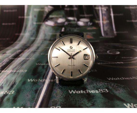 Reloj antiguo automático Certina automatic NEW ART New old stock 70s