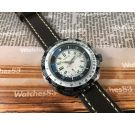 INCITUS vintage manual winding watch Diver GMT Wterproof OVERSIZE