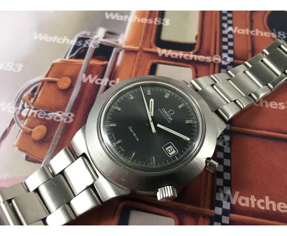 Omega Chronostop Reloj suizo antiguo de cuerda Geneve Cronógrafo Cal 920 Oversize Ref 146.012