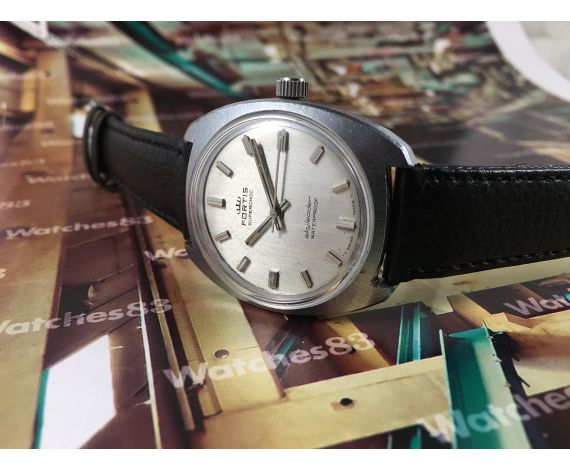 Fortis Skyleader vintage swiss manual winding watch 17 jewels