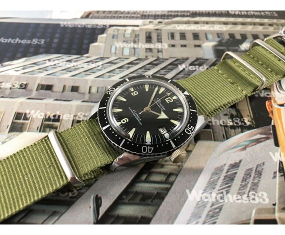 Sicura Submarine vintage swiss manual winding watch 23 jewels diver