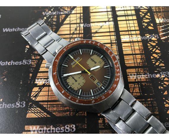 Reloj cronógrafo antiguo automático Seiko Chronograph Bullhead Automatic Ref 6138B JAPAN J 6138-0040