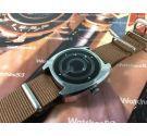 Vintage swiss automatic watch Sandoz Mystery Dial day / date 1850Z84-6 *** SPECTACULAR ***