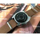 Sandoz Mystery Dial reloj vintage suizo automatico day / date 1850Z84-6 *** ESPECTACULAR ***