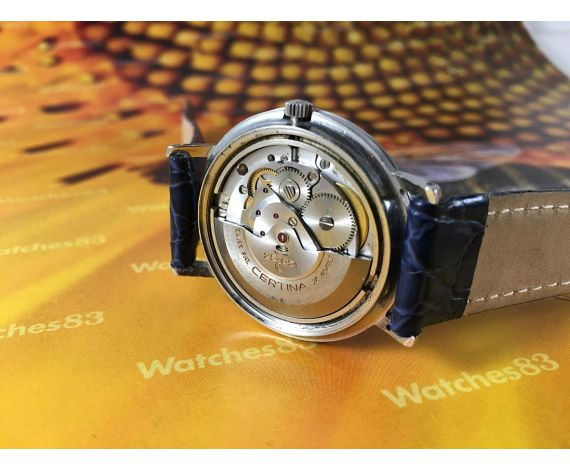 Certina Waterking 210 automatic reloj antiguo automático 28 jewels Cal 25-651