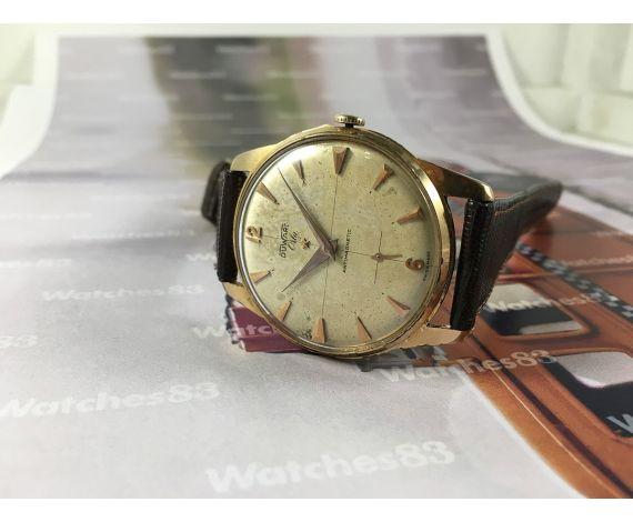 Duward Orly reloj muy antiguo suizo de cuerda plaqué OR Oversize 39mm