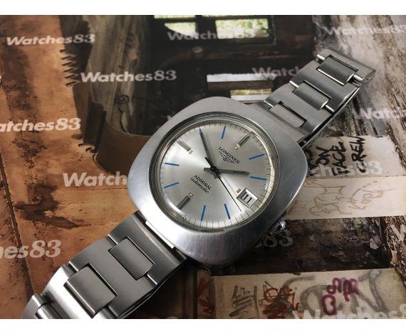 Longines Admiral automatic reloj suizo vintage automático Calibre 431L *** IMPRESIONANTE ***