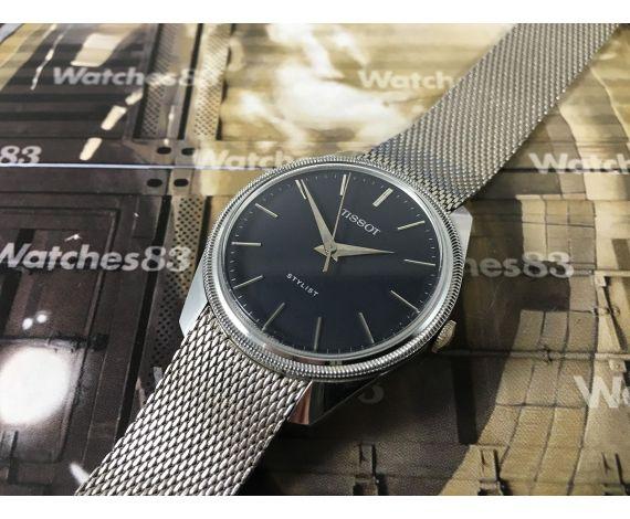 Tissot Stylist Reloj vintage suizo de cuerda *** New old stock NOS ***