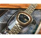 Enicar Sherpa 350 vintage swiss automatic watch Cal Eta 2824-2 *** New old stock NOS ***