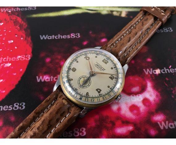 Charles Nicolet Tramelan Reloj suizo muy antiguo de cuerda calendario de martillo