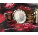 Charles Nicolet Tramelan vintage swiss hand wind watch hammer calendar