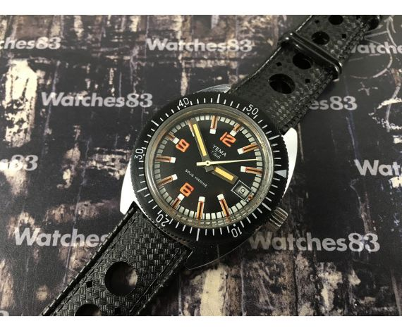 Yema Club Sous Marine vintage swiss manual winding watch Cal FE 140 Diver