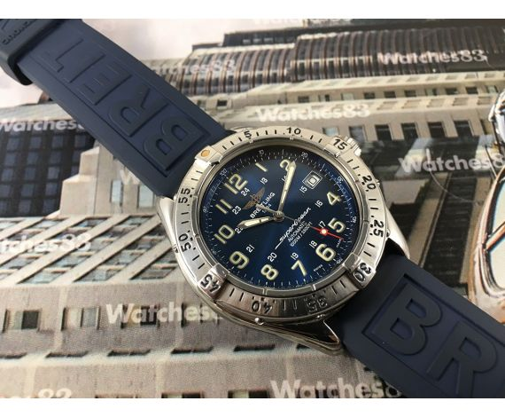 Breitling SuperOcean 1000M / 3300 FT Colt automatic swiss watch A17040 *** ESPECTACULAR ***