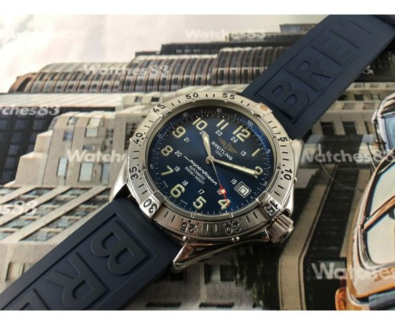 mesh with mirror superocean strap breitling watch watches replica swiss steel ultimate