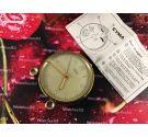 Cyma AMIC Reloj Despertador suizo antiguo de cuerda 1956 + Estuche + Papeles
