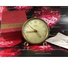 Cyma AMIC vintage swiss manual wind alarm watch 1956 + Box + Papers