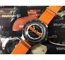 Vintage Timex manual winding watch DIVER *** Beautiful *** OVERSIZE