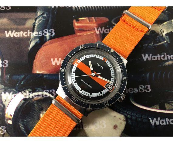 Reloj Timex antiguo de cuerda DIVER *** Precioso *** OVERSIZE