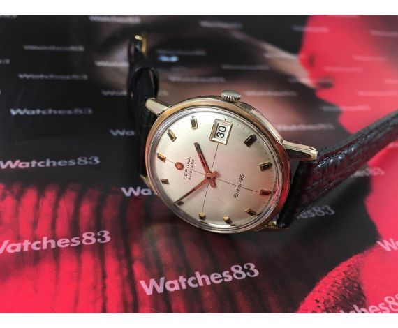 Reloj suizo antiguo automático Certina Bristol 195 Cal 25-651 27 jewels