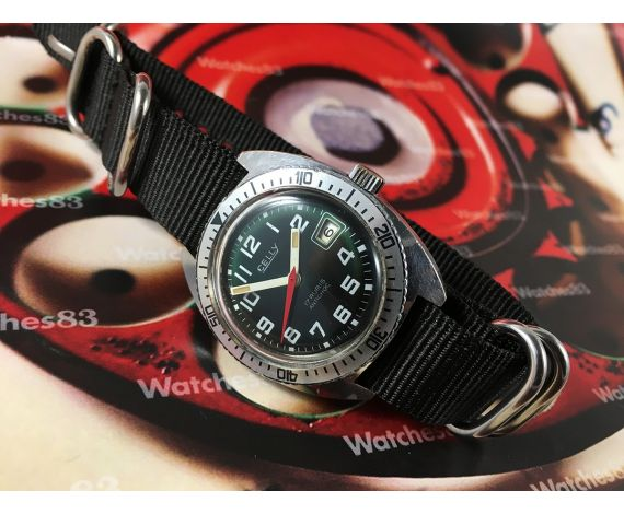 DIVER Reloj Celly antiguo de cuerda manual *** Precioso ***